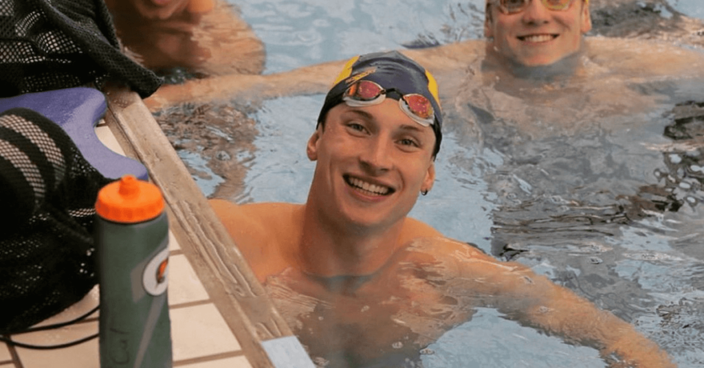 cope getting back into swimming shape