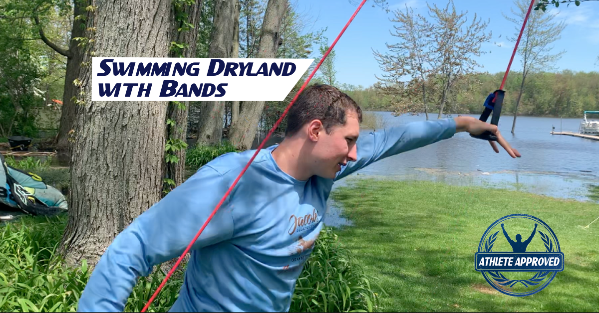 swimming dryland with bands