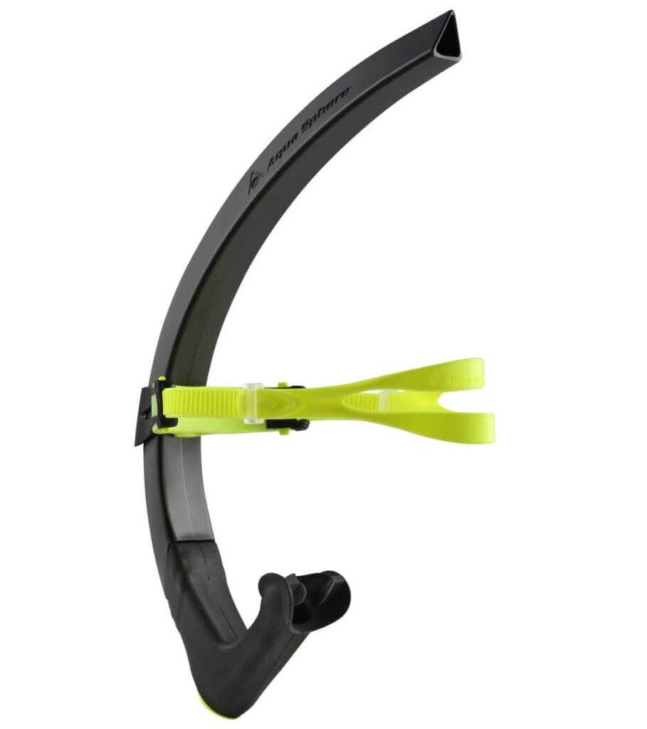 MP Michael Phelps Focus Swim Snorkel Black