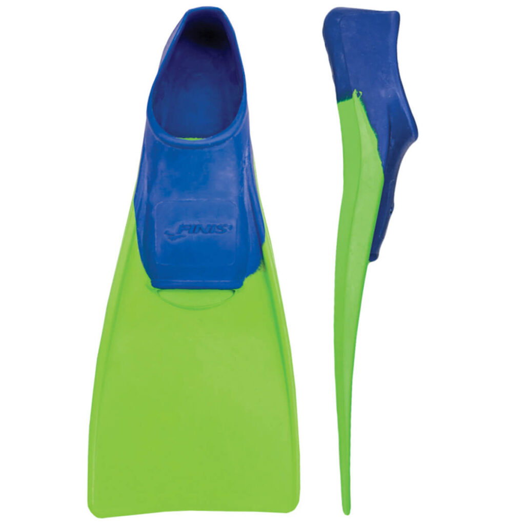 Finis Long Floating Fin green