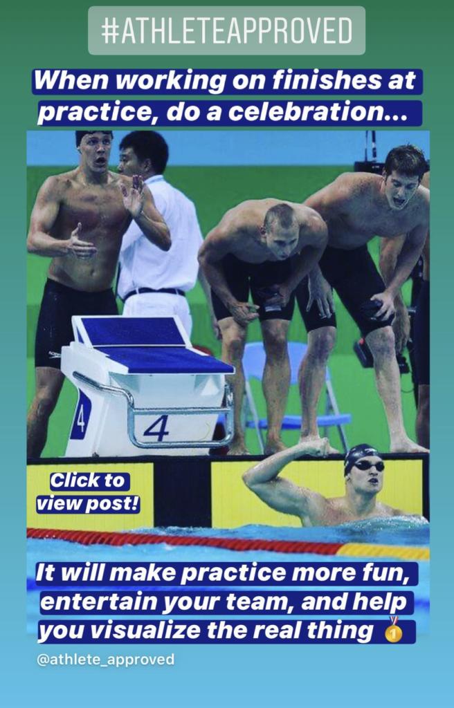 Beginner Swim Team Celebration