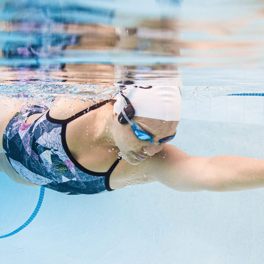 Amnis Stream Underwater Headphones Swim
