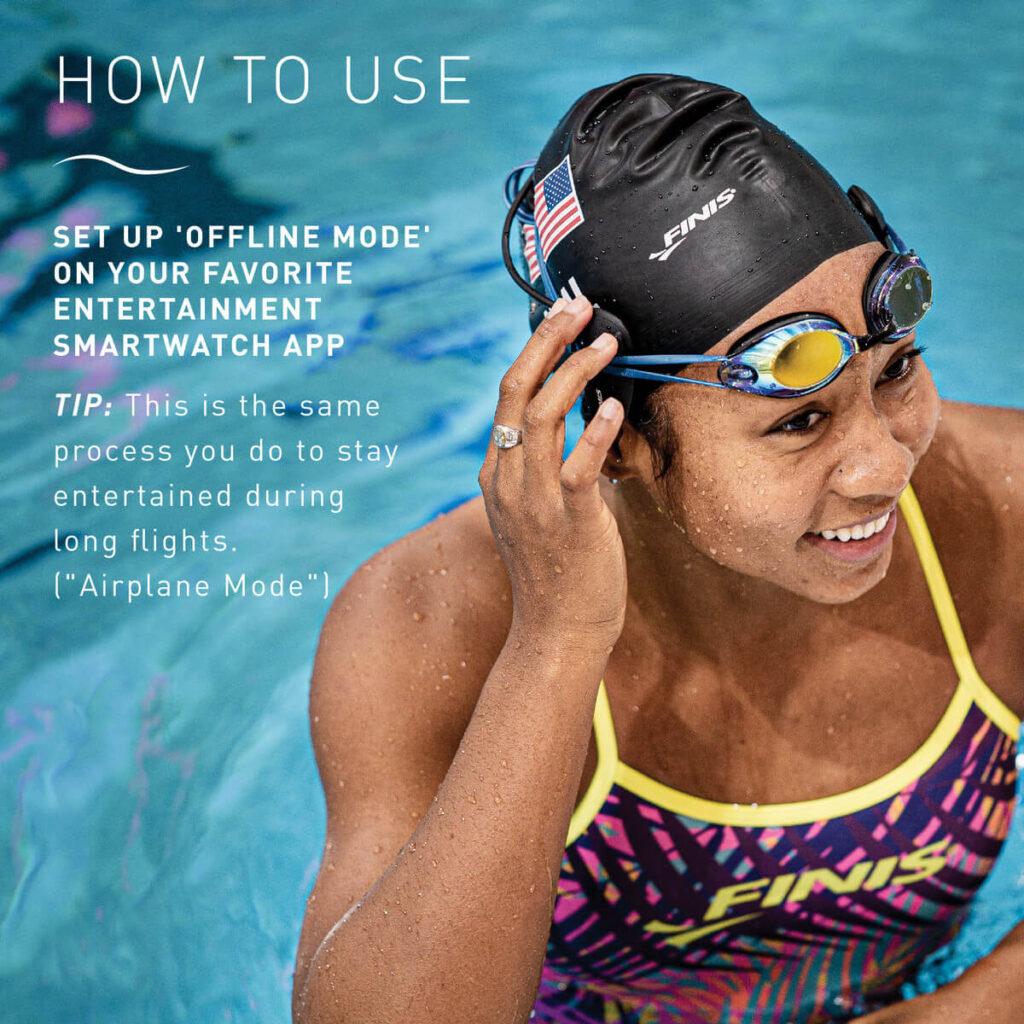 Amnis Stream Underwater Headphones how to use