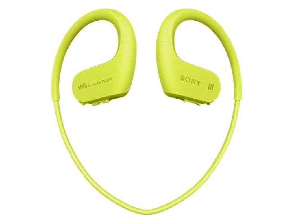 Sony Waterproof Walkman NW-WS623 lime green