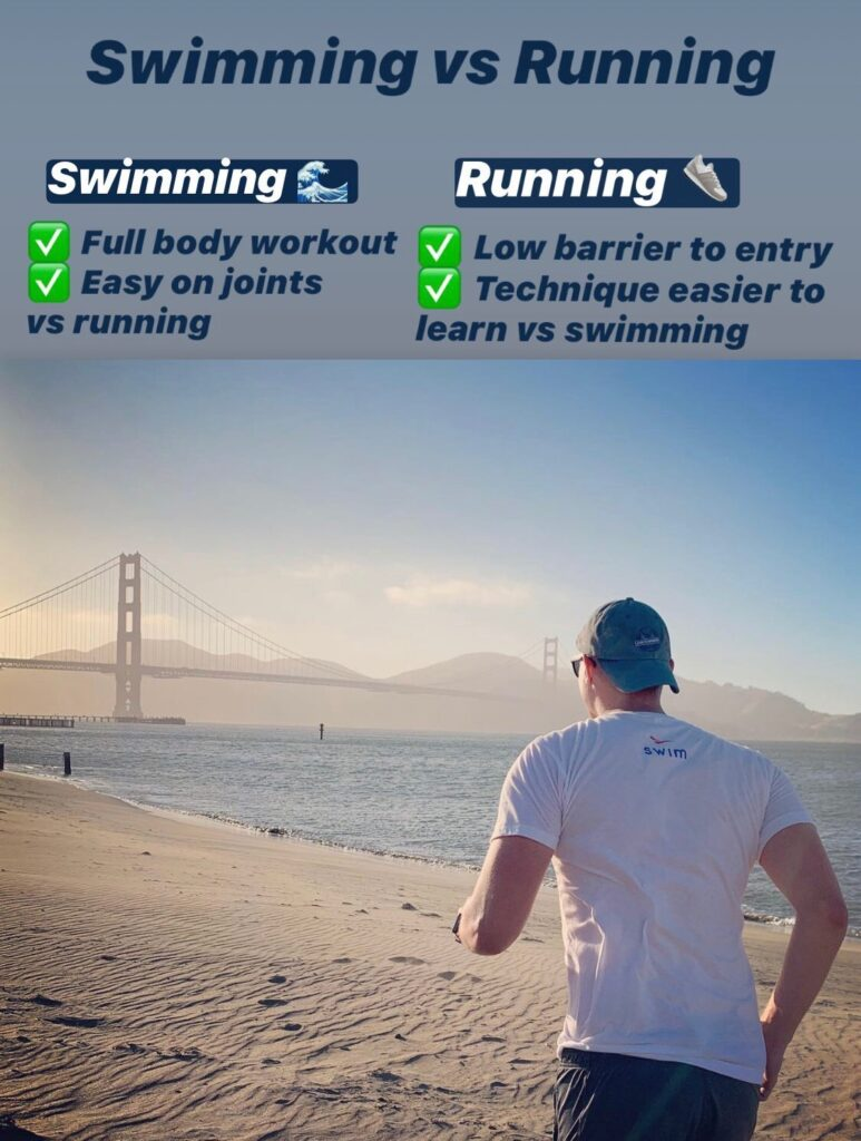 Swimming vs Running