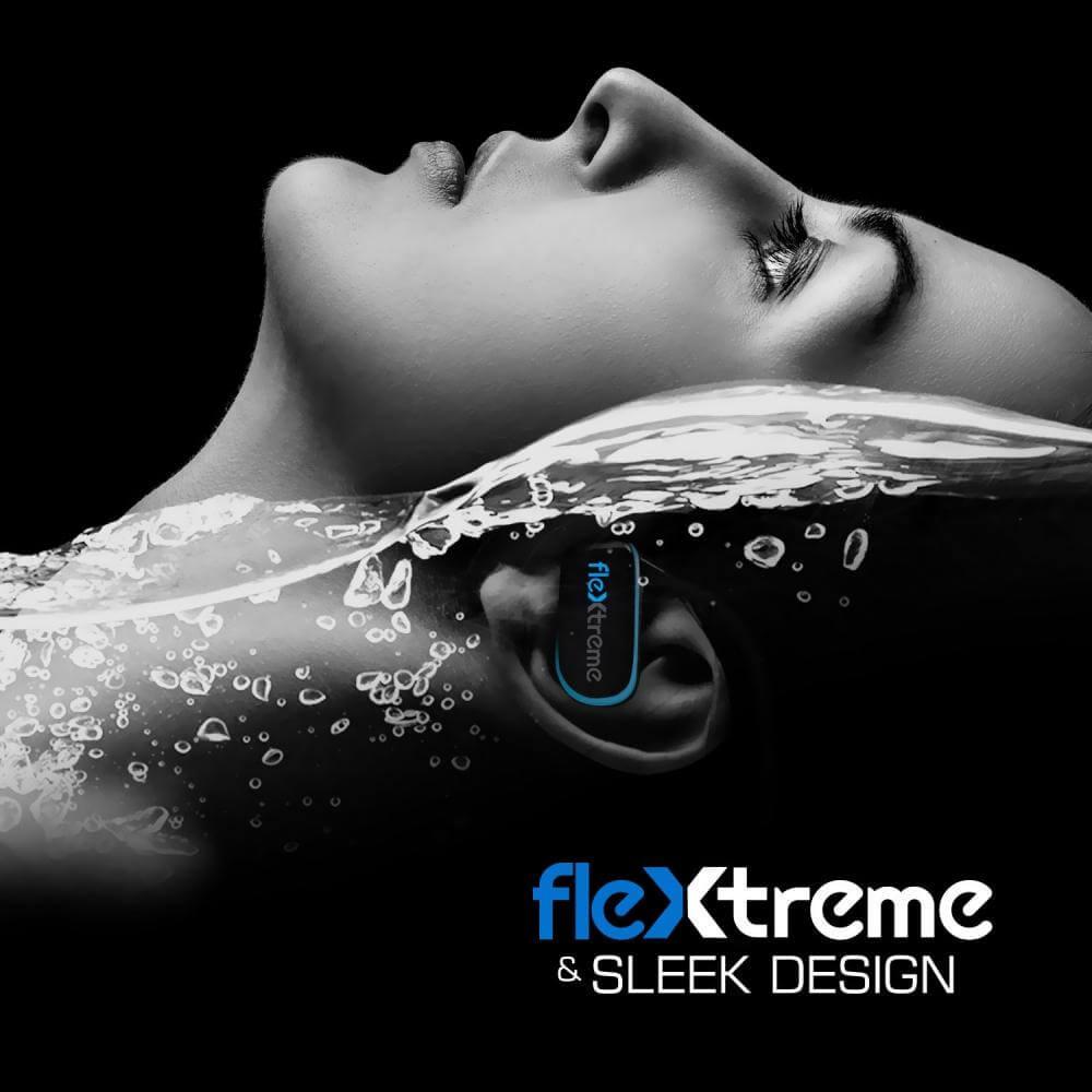 Pyle Flextreme Waterproof MP3 Headphones Underwater Swim