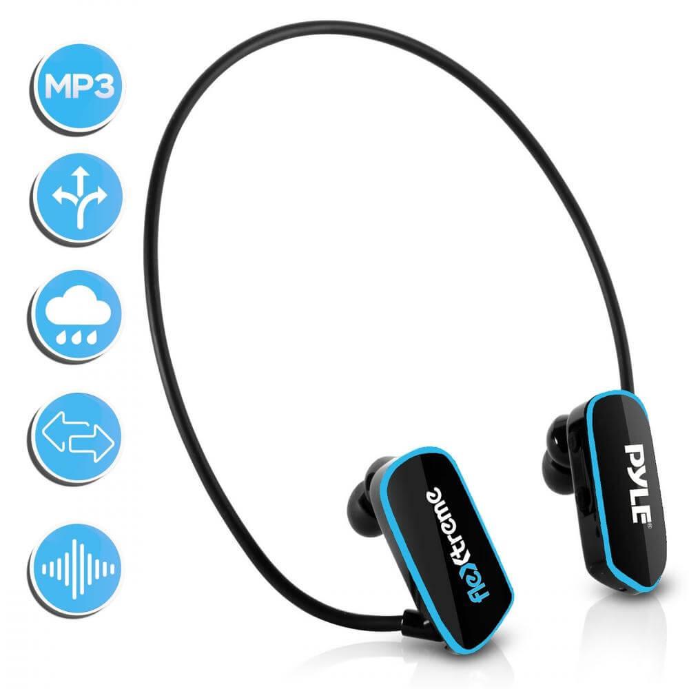 Pyle Flextreme Waterproof MP3 Headphones