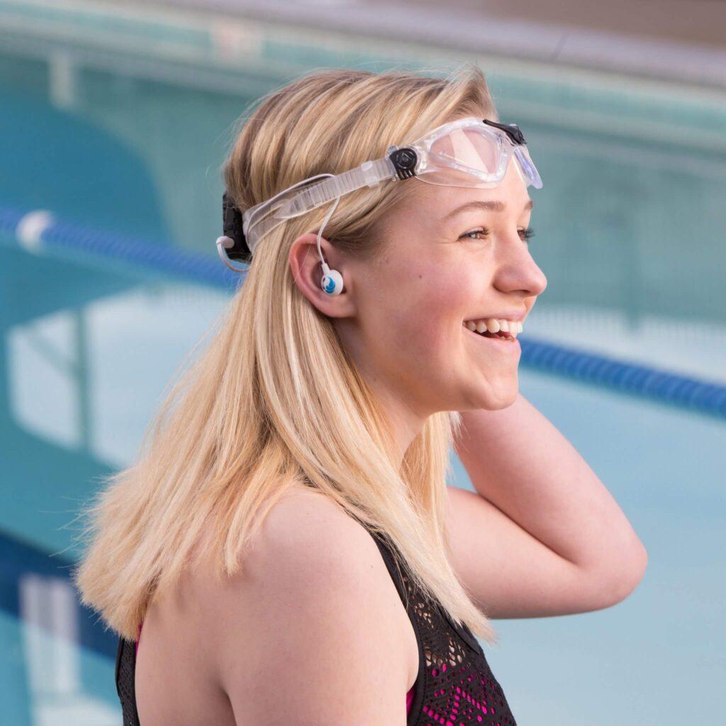 Underwater Audio Swimbuds Sport Waterproof Headphones