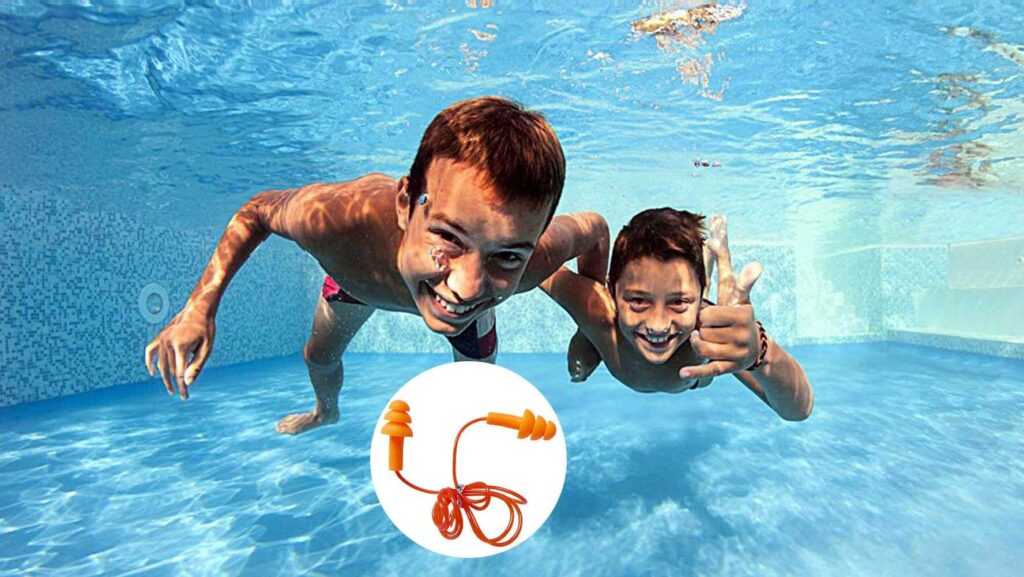 zYoung 6 Pair Reusable Silicone Ear Plugs Underwater