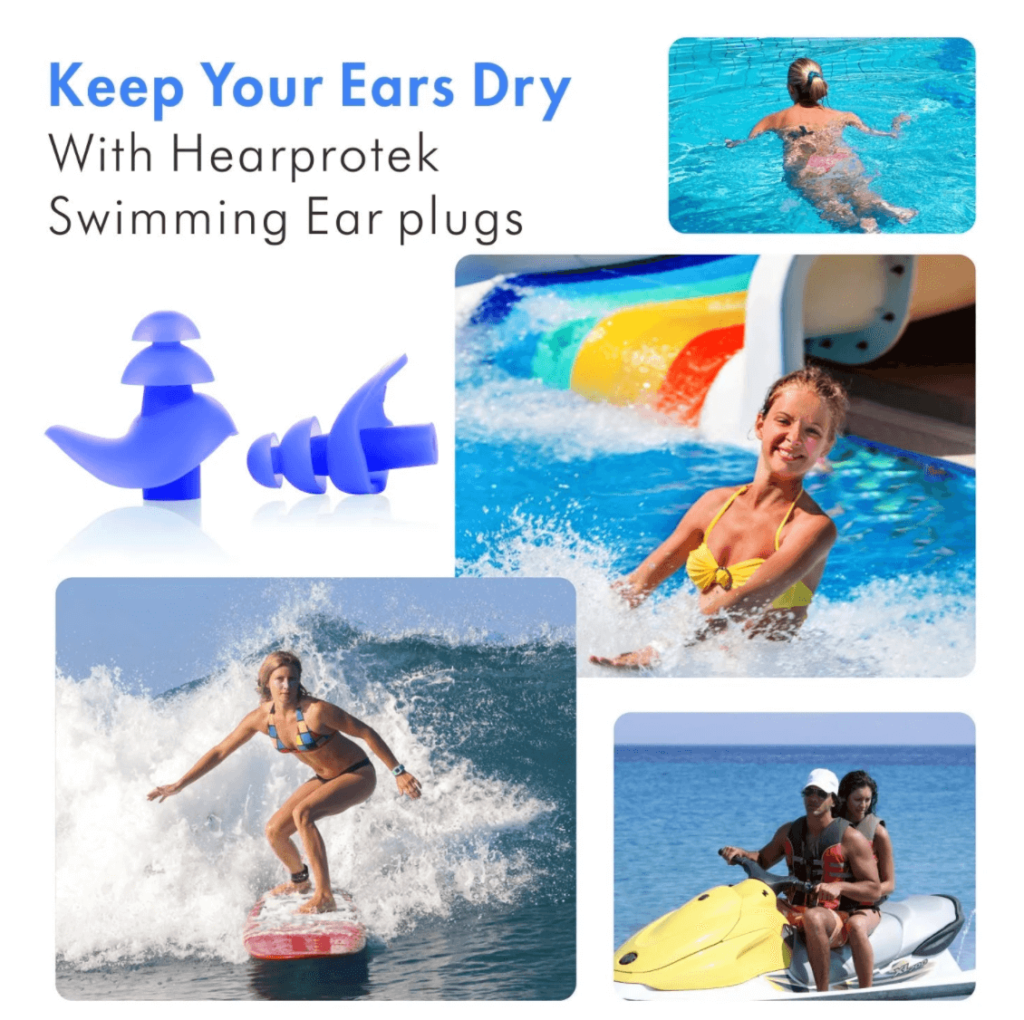 Hearprotek Swimming Earplugs Everyday