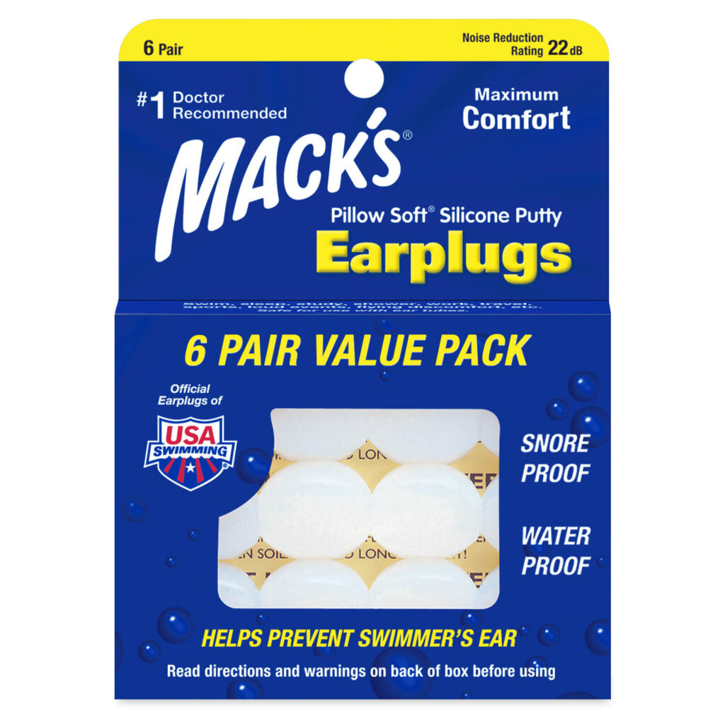 Mack's Pillow Soft Silicone Putty Ear Plugs
