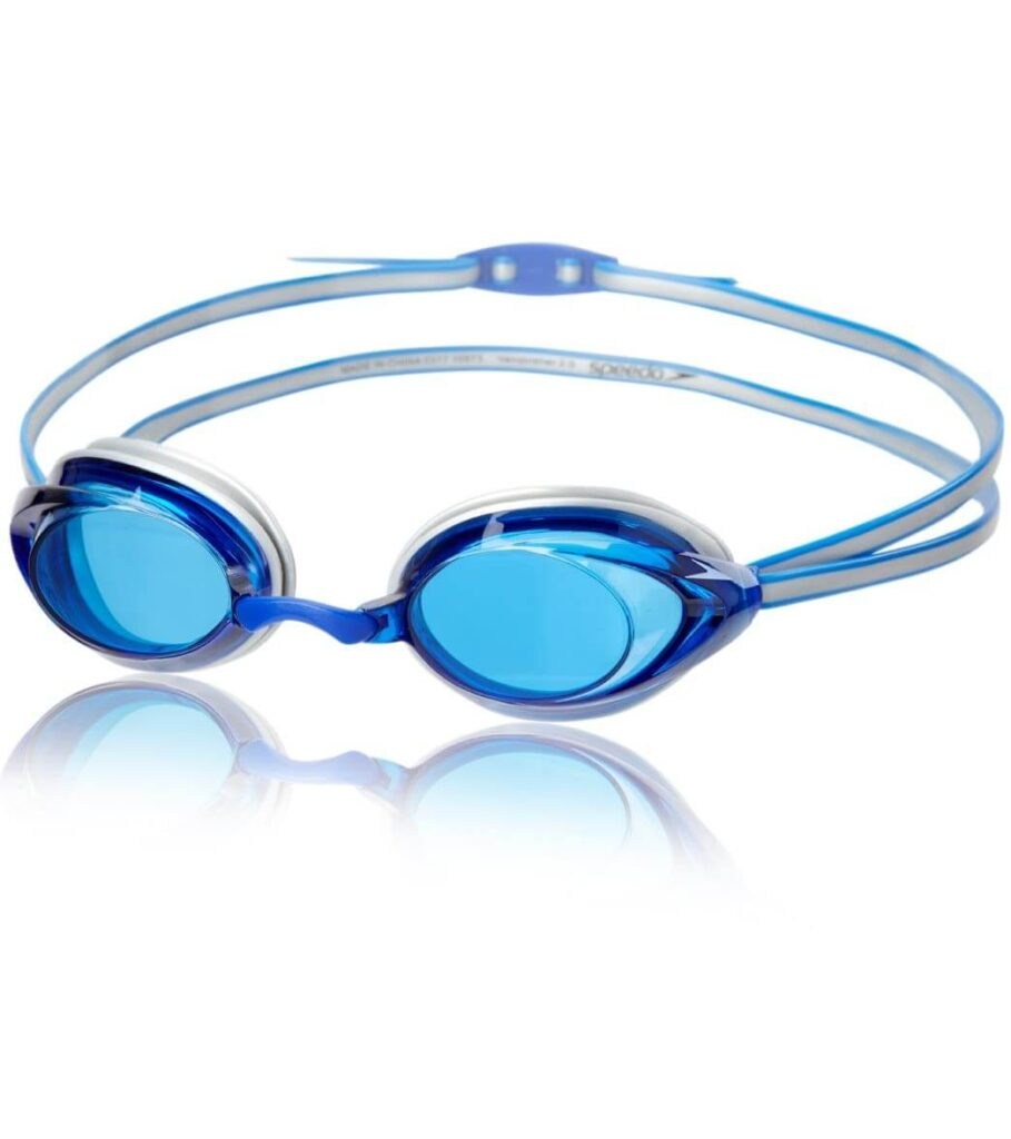 Speedo Vanquisher 2.0 Blue Best Goggles for Lap Swimming
