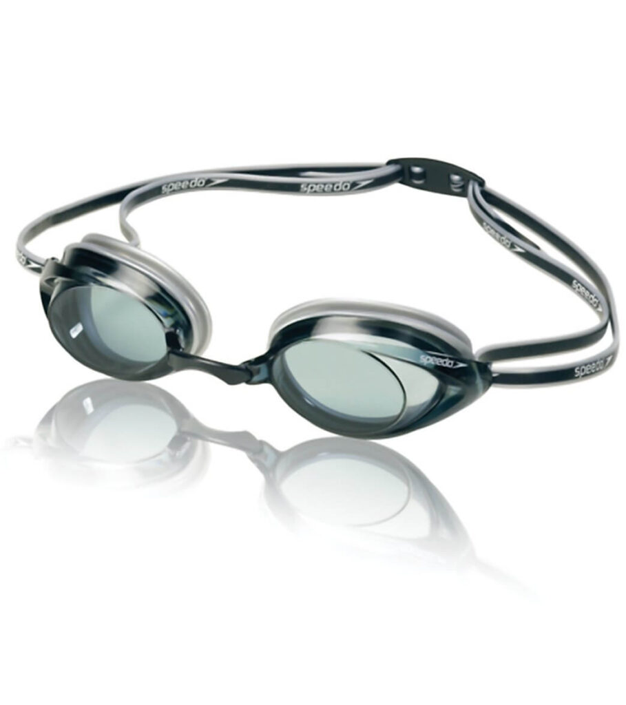 Speedo Vanquisher 2.0 Grey Best Goggles for Lap Swimming