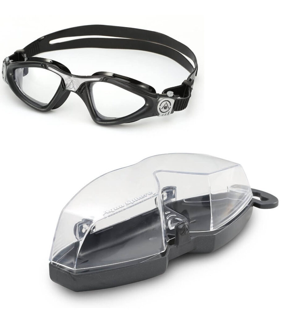 Best Triathlon/Open Water Goggles: Aqua Sphere Kayenne Clear
