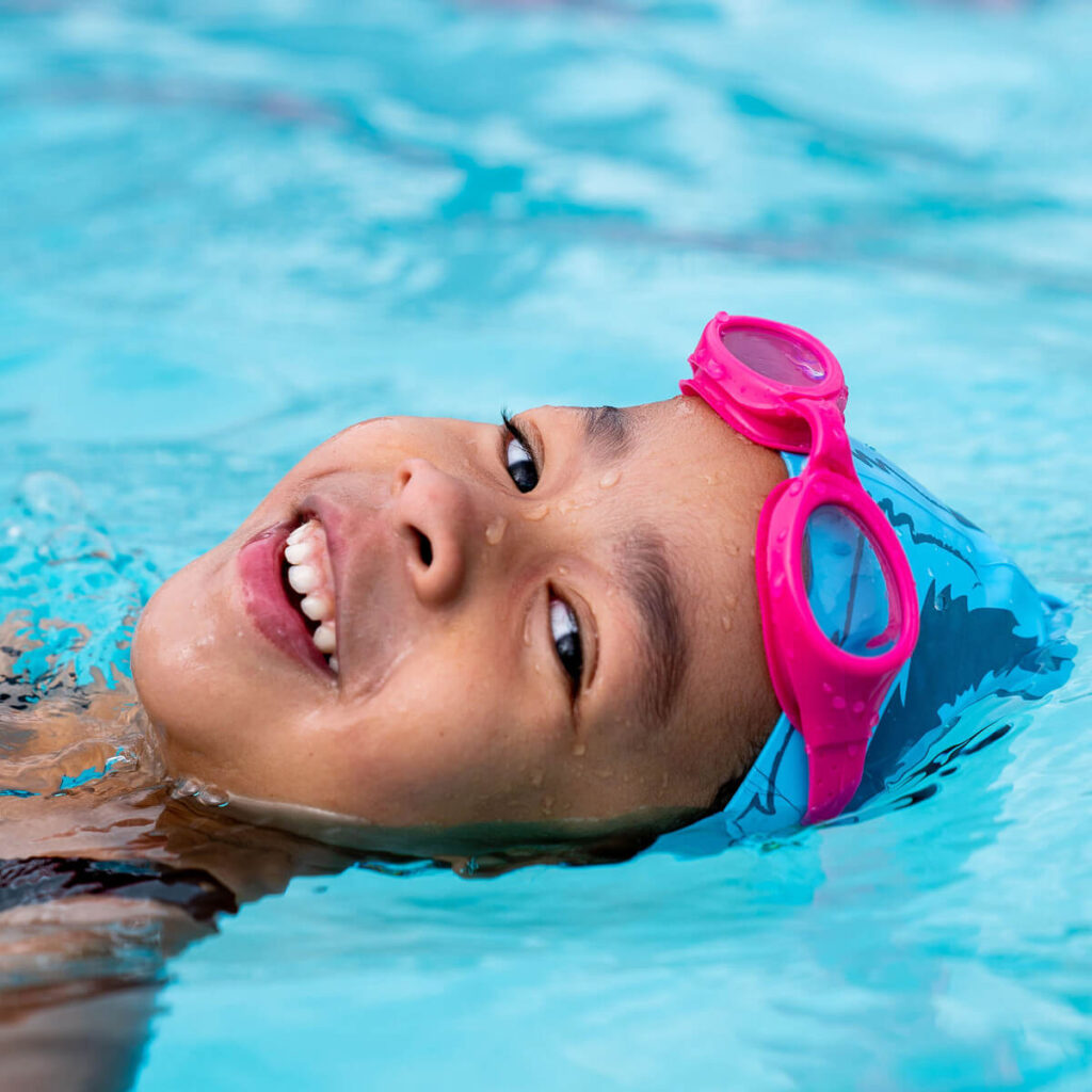 Best Kid's Recreation Swim Goggles: Finis Fruit Basket Pink