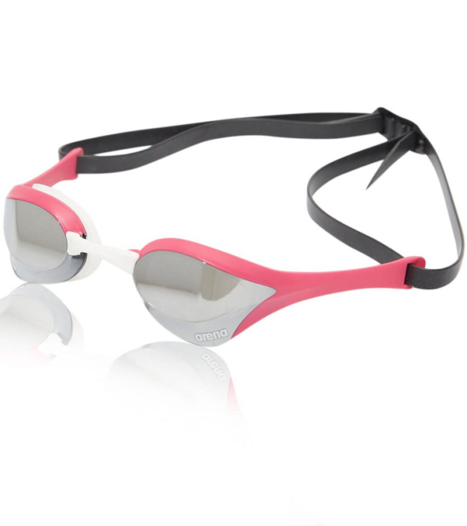 Best High-End Goggles: Arena Cobra Ultra Swipe Pink
