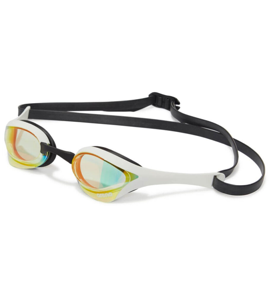 Best High-End Goggles: Arena Cobra Ultra Swipe White