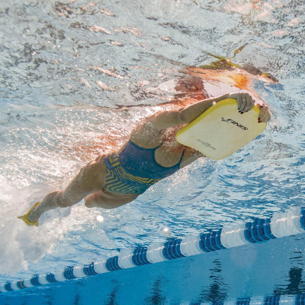Best Kid's Kickboard for Swimming: Finis Junior Foam Kickboard Underwater