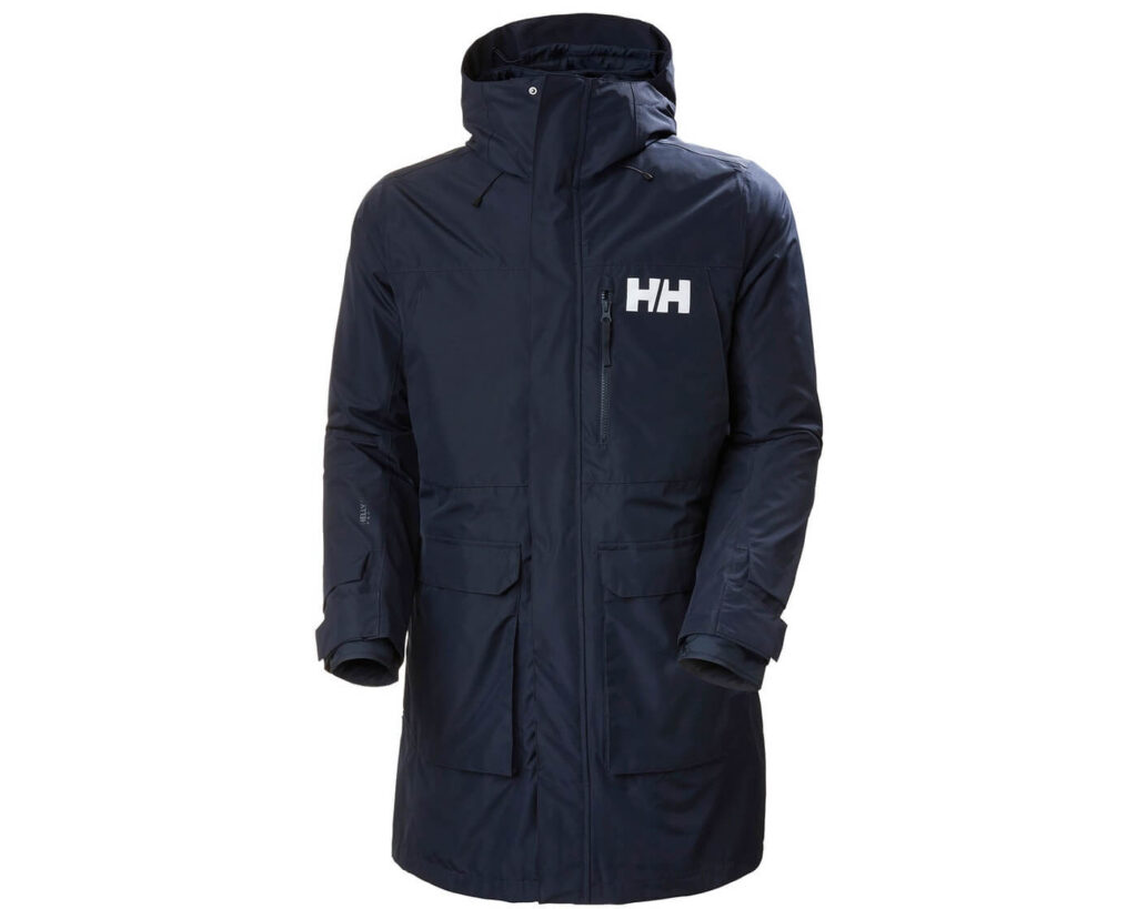 Best High End Parka for Swimmers: Helly-Hansen Rigging Coat