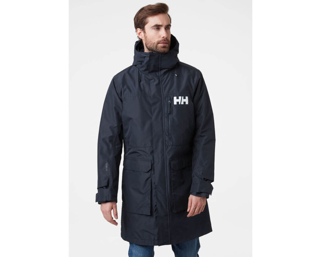 Best High End Parka for Swimmers: Helly-Hansen Rigging Coat rain