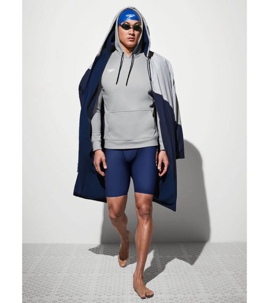 Best Overall Parka for Swimming: Speedo Team Parka nathan adrian