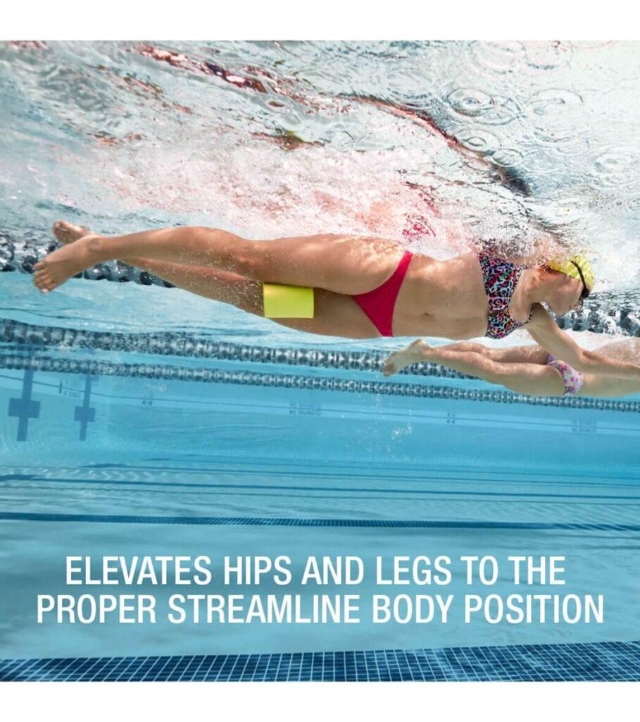 Best Floating Pull Buoy for Swimming: Speedo Unisex-Adult Swim Training Pull Buoy lime