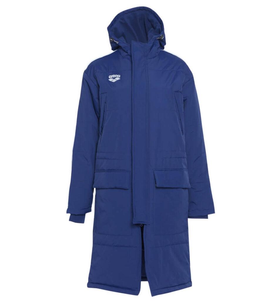 Swim Parka: Arena Unisex Team Line Parka blue