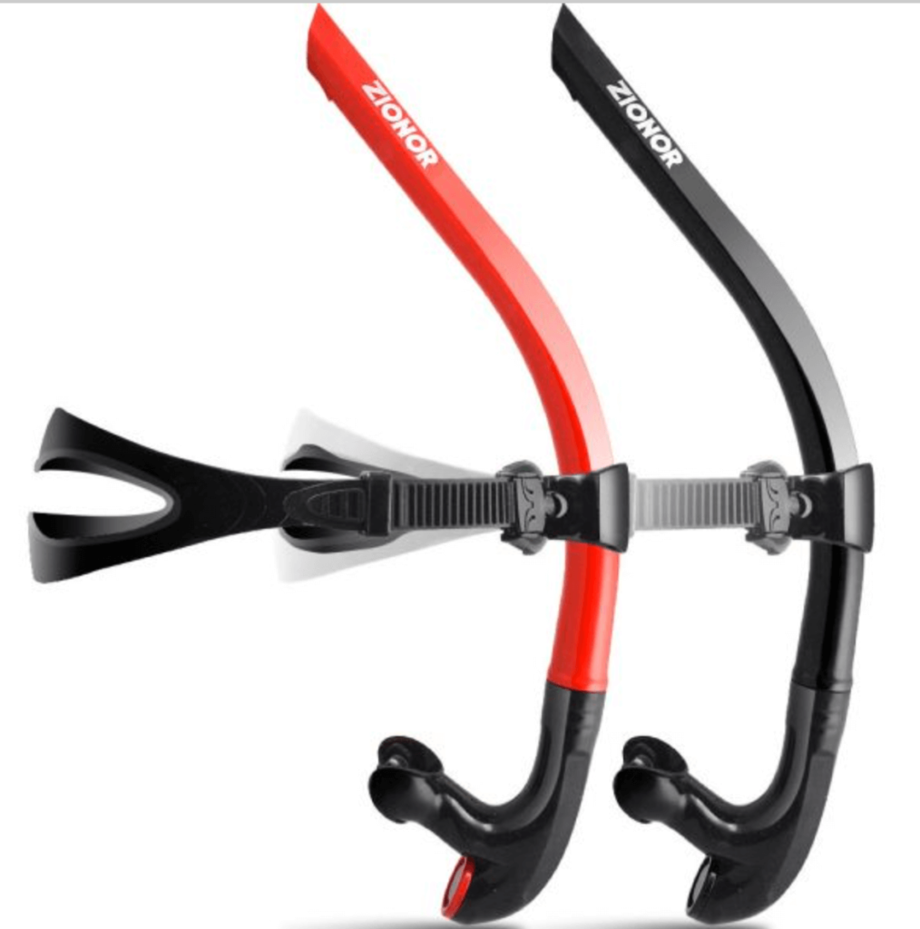 BEST BUDGET SNORKEL FOR LAP SWIMMING: Zionor Snorkel colors