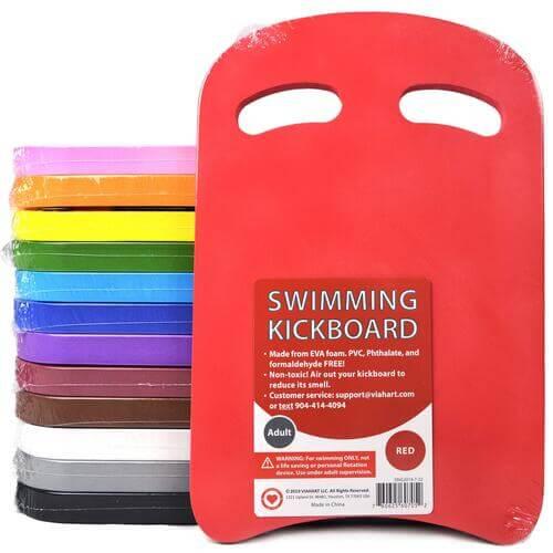 The Best Budget Kickboard for Swimming: Viahart Swimming Kickboard all colors