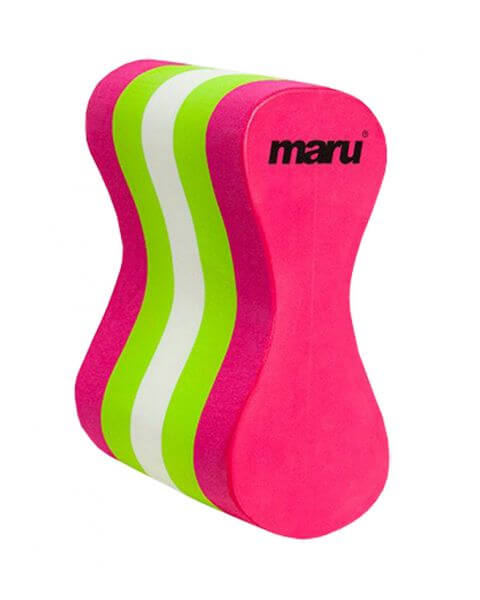 BEST LOOKING PULL BUOY FOR SWIMMING: Maru Pull Buoy Green pink