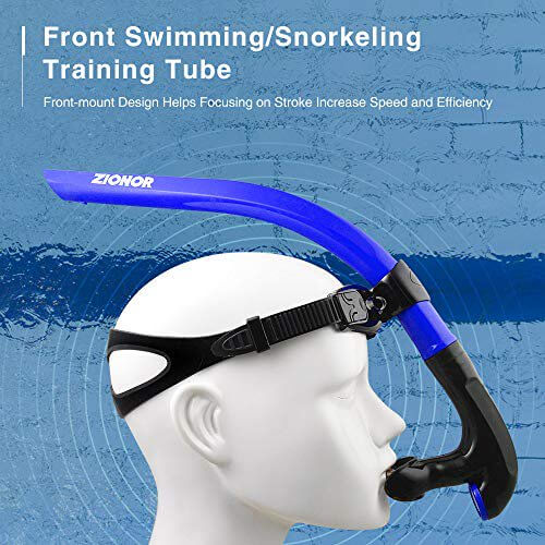 BEST BUDGET SNORKEL FOR LAP SWIMMING: Zionor Snorkel model