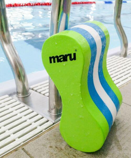 BEST LOOKING PULL BUOY FOR SWIMMING: Maru Pull Buoy Green