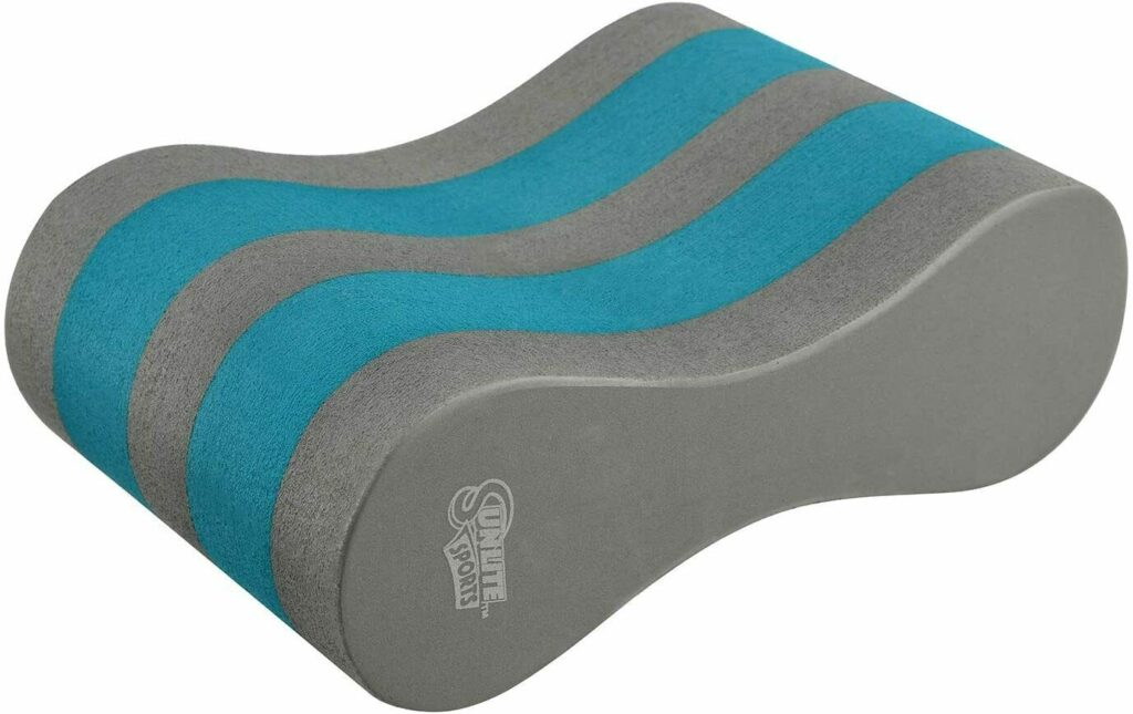 BEST BUDGET PULL BUOY FOR SWIMMING: Sunlite Sports Pull Buoy blue grey