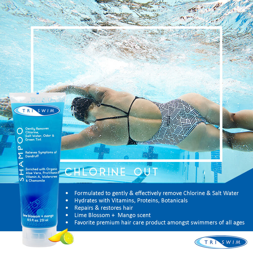 Best Chlorine Removing Shampoo with Full Line: Triswim Chlorine Removal Swimmers Shampoo Data Sheet