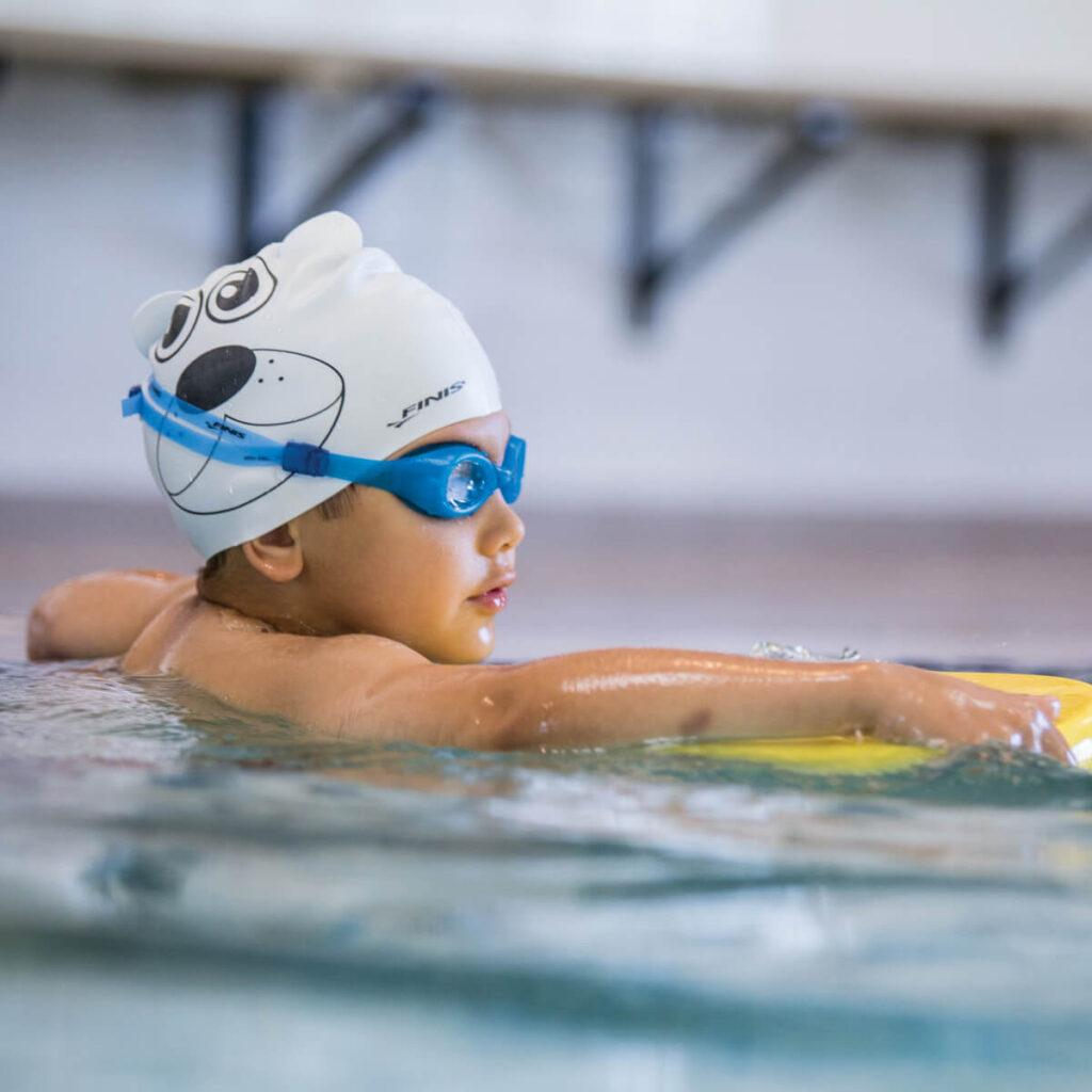Best Kid's Swim Cap: Finis Animal Heads Cap Polar Bear