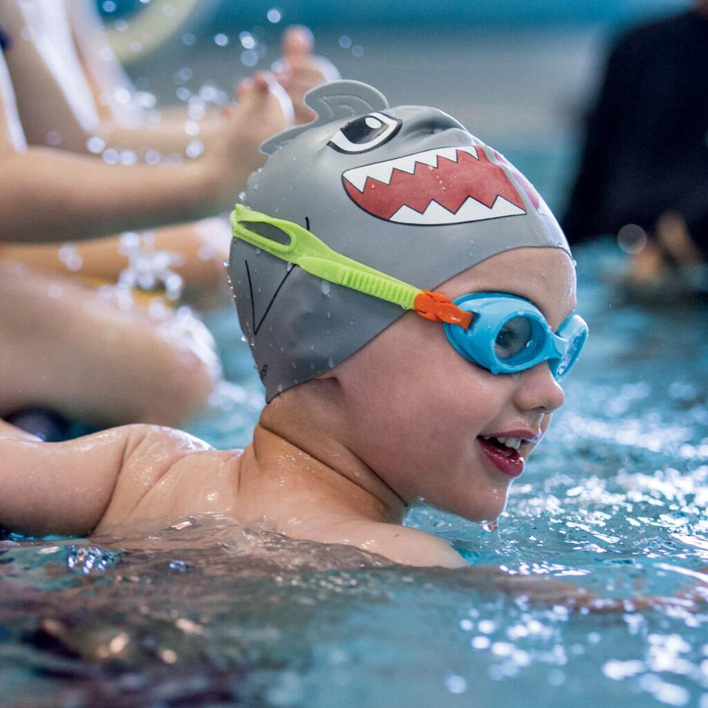 Best Kid's Swim Cap: Finis Animal Heads Cap Shark