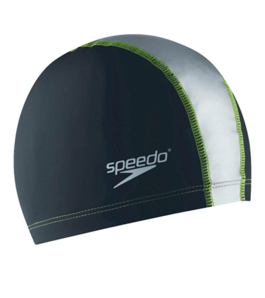 Best Comfort Cap for Swimming: Speedo Stretch Fit Swim Cap green
