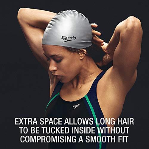 Best Overall Swim Cap: Standard Silicon Cap: Speedo Silicon Cap Latex Fit