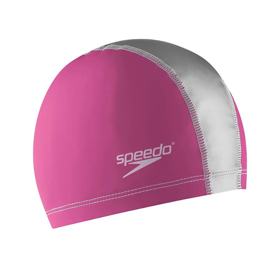 Best Comfort Cap for Swimming: Speedo Stretch Fit Swim Cap pink