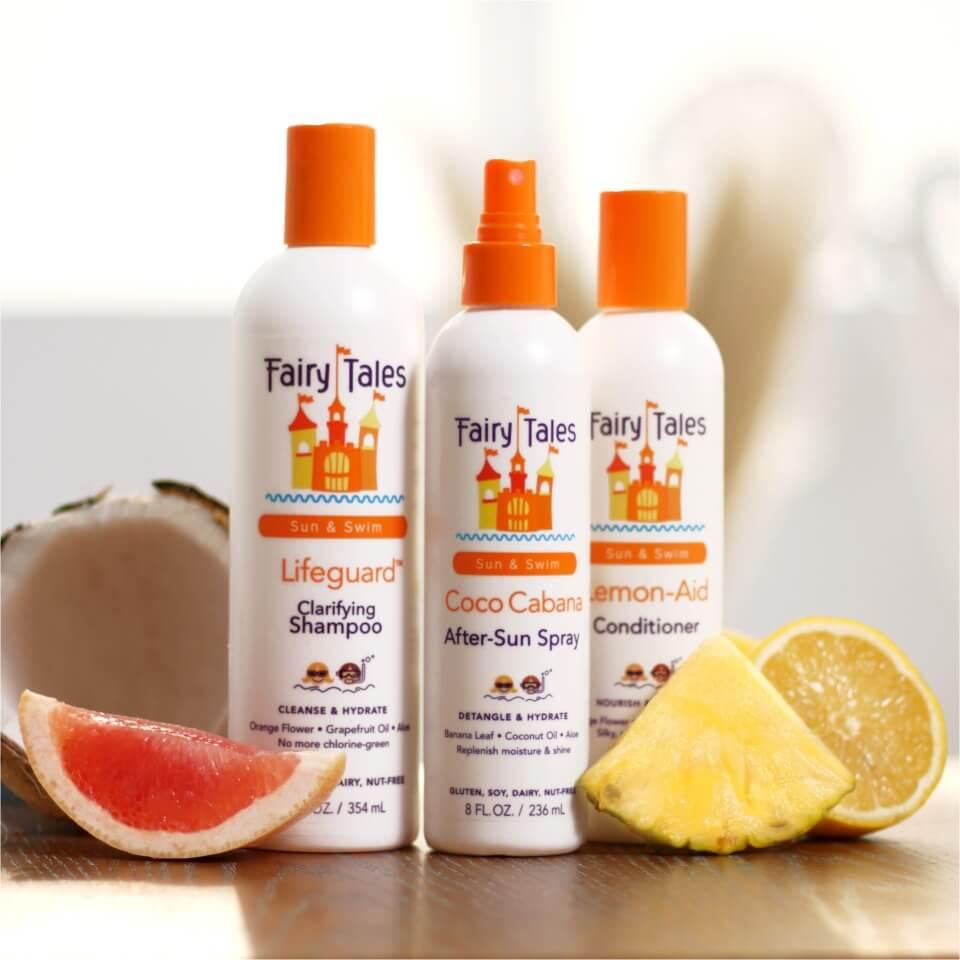 Best Kid's Chlorine Removing Shampoo: Fairy Tales Swim Shampoo for Kids Kit