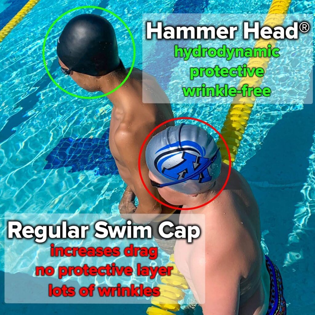 Best Safety Swim Cap: Hammer Head Swim Cap safety