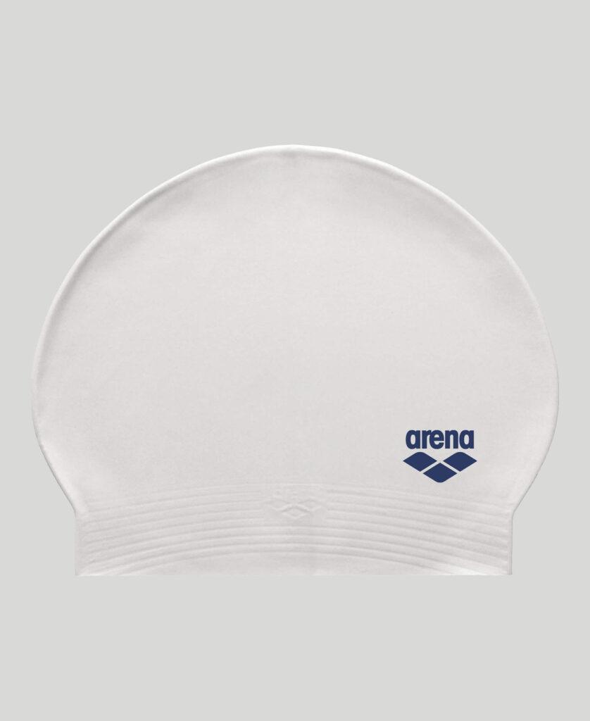 Best Lap Swimming Swim Cap: Arena Soft Latex Unisex Swim Cap White