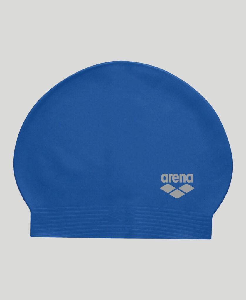 Best Lap Swimming Swim Cap: Arena Soft Latex Unisex Swim Cap Blue