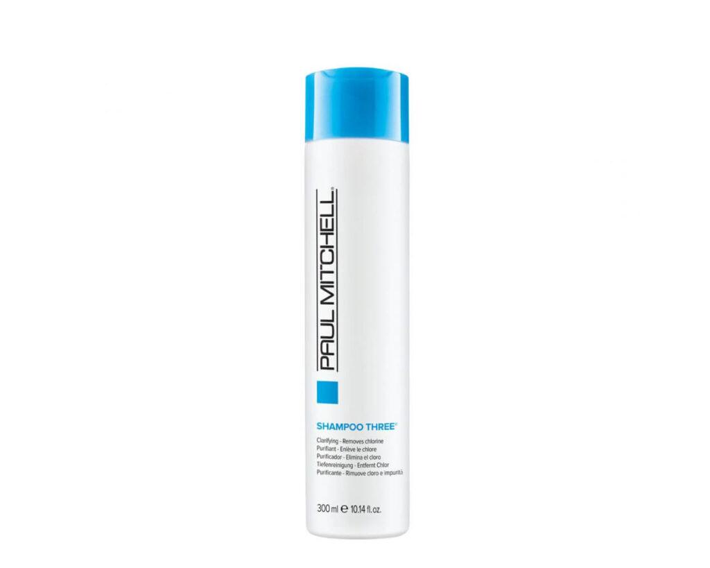 Best Multi Purpose Chlorine Removing Shampoo: Paul Mitchelle Shampoo Three